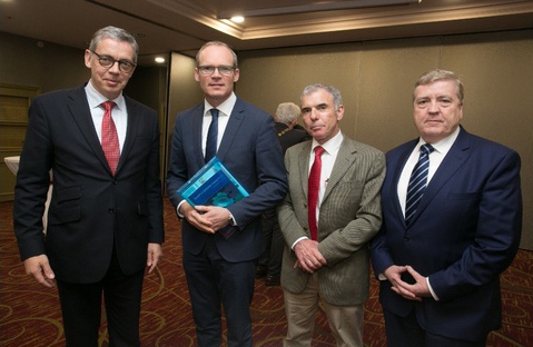 Key figures attending a conference by the Association of Irish Local Government