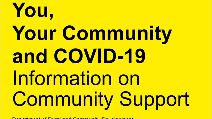 Irish Rural Link Welcome the Launch of COVID-19 Government Action Plan to Support the Community Response